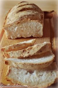 Pain sans gluten croustillant et moelleux Bouillondidees