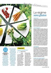 Femme actuelle 2 article régimes sans gluten, sans lactose Bouillon d'Idées
