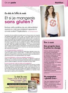 MODES & TRAVAUX le sans gluten Bouillondidees