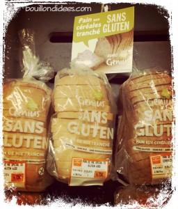 Magasin pain de mie sans gluten Genius Carrefour Bouillondidees