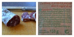 Magasin saucisson sans GLO gluten PLV Bonneterre Bouillondidees