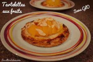 Tartelettes aux fruits sans GLO (sans gluten, sans lait, sans PLV, sans oeuf) Bouillondidees