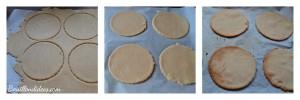 Tartelettes aux fruits sans GLO (sans gluten, sans lait, sans PLV, sans oeuf) - préparation pâte sablée sans gluten Bouillondidees