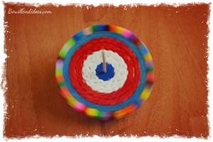 Toupies en perles à repasser Hama ronde Bouillondidees