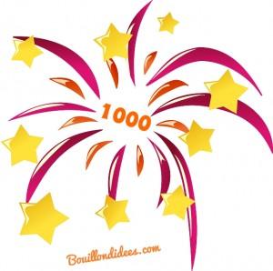 1000 jaime Facebook Bouillondidees