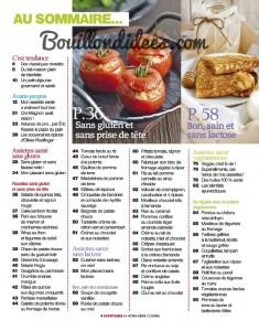Avantages Hors Serie cuisine Sans gluten, sans Lactose & cie Sommaire1 Bouillondidees