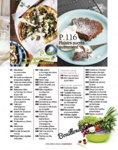 Avantages Hors Serie cuisine Sans gluten, sans Lactose & cie Sommaire2 Bouillondidees