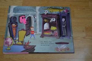 LIVRES qui font peur Halloween Nathan au secours Fantôme farceur 2