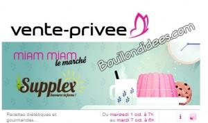 Vente privée produits Supplex SANS GLUTEN   Bouillondidees
