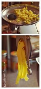 Tagliatelles maison, pâtes fraîches, sans gluten, sans PLV, sans lactose, sans GLO préparation Cooking Chef Bouillondidees