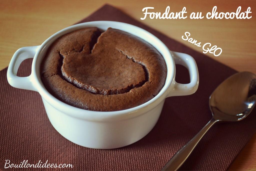 fondant au chocolat sans GLO (gluten, lait plv, oeuf), tofu Bouillondidees