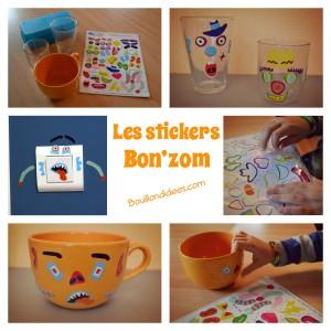 stickers Bon'zom C-MonEtiquette customiser gen Bouillondidees
