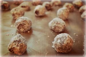 Crinkles sans GLO, biscuits croustimoelleux black& white pour Noel avant cuisson Bouillondidees