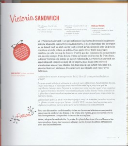 Recette Victoria Sandwich sans GLO (MORGAN Mellissa MS. CUPCAKE)