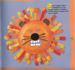 DIY Masque Lion Carnaval fête livre 2 Masques, Lebailly, Fleurus Bouillondidees