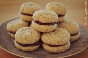 Baci di Dama (baisers des dames) biscuits noisettes amandes 3  sans GLO Bouillondidees