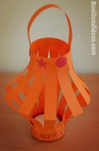 DIY Nouvel an Chinois lanternes 2 rouleau papier toilette Bouillondidees