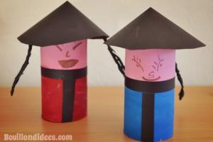 DIY Nouvel an Chinois poupées chinoises rouleau papier toilette Bouillondidees