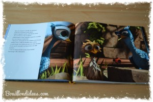 Livre GUS petit oiseau, grand voyage Nathan film d'animation (coin lecture) grand album Bouillondidees
