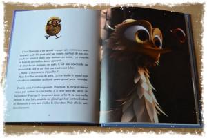 Livre GUS petit oiseau, grand voyage Nathan film d'animation (coin lecture) petit album Bouillondidees
