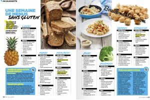 Le régime sans gluten, de retour dans la presse