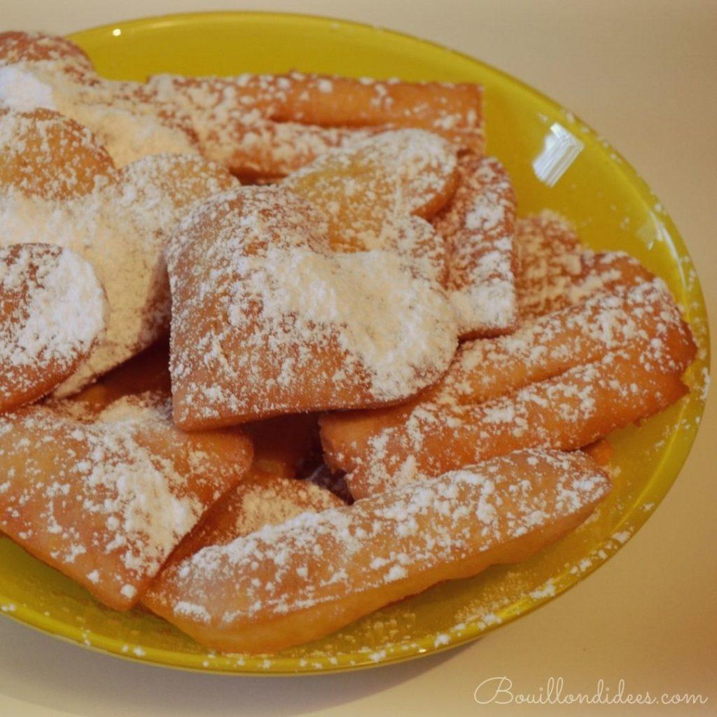 bugnes beignets carnaval lyon sans glo