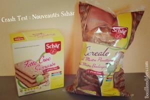 Test nouveautés Schär sans gluten Tartines croustillantes au sarrasin (Fette Croc)  et Pain Céréale du Maître Boulanger  Bouillondidees