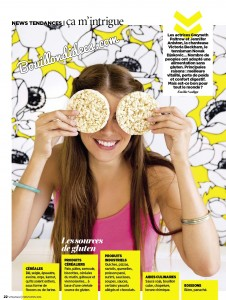 Vital Food magazine article sans gluten 1