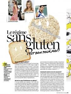 Vital Food magazine article sans gluten 2