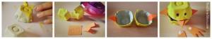 DIY Paques Poussins boîte à oeufs alvéole étape bricolage Bouillondidees