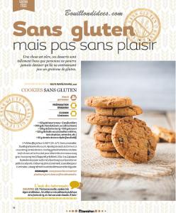 HS Marmiton Patisserie n1 recette Sans gluten COOKIES Bouillondidees