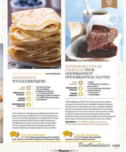 HS Marmiton Patisserie n1 recette Sans gluten crepes gateau choco Bouillondidees