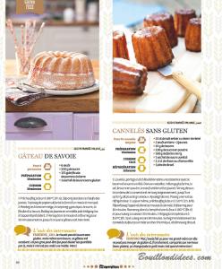 HS Marmiton Patisserie n1 recette Sans gluten gâteau de savoie et cannelés  Bouillondidees