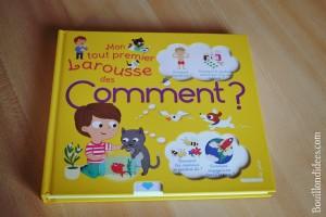 Livre Coin lecture Mon tout premier Larousse des Comment chut les enfants lisent Bouillondidees
