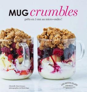 Mug Crumbles livre cuisine Marabout Couv