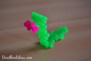 Test jeu construction Plus-Plus serpent Bouillondidees