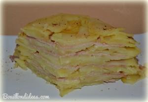 gateau de pommes de terre 2 (sans GLO, gluten, lait, PLV, lactose, oeuf) Bouillondidees