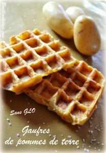 Gaufres de pommes de terre, sans GLO (sans gluten, sans lait, sans oeuf) 1 Bouillondidees
