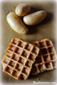 Gaufres de pommes de terre, sans GLO (sans gluten, sans lait, sans oeuf) 2 Bouillondidees