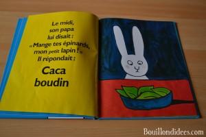 Livre Coin lecture Caca Boudin Blake chut les enfants lisent 3 Bouillondidees