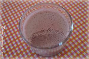 Mousse de fruits Fraise sans GLO creme de soja (sans gluten, sans lait, sans oeuf) onctueuse  Bouillondidees