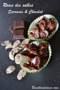 roses des sables chocolat Flakes pétales de Sarrasin sans GLO (sans gluten, lait, oeuf) Bouillondidees