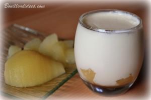 yaourt maison aux poires caramélisées 2 Bouillondidees