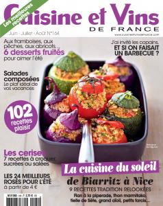 Cuisine et Vin de France sans gluten UNE