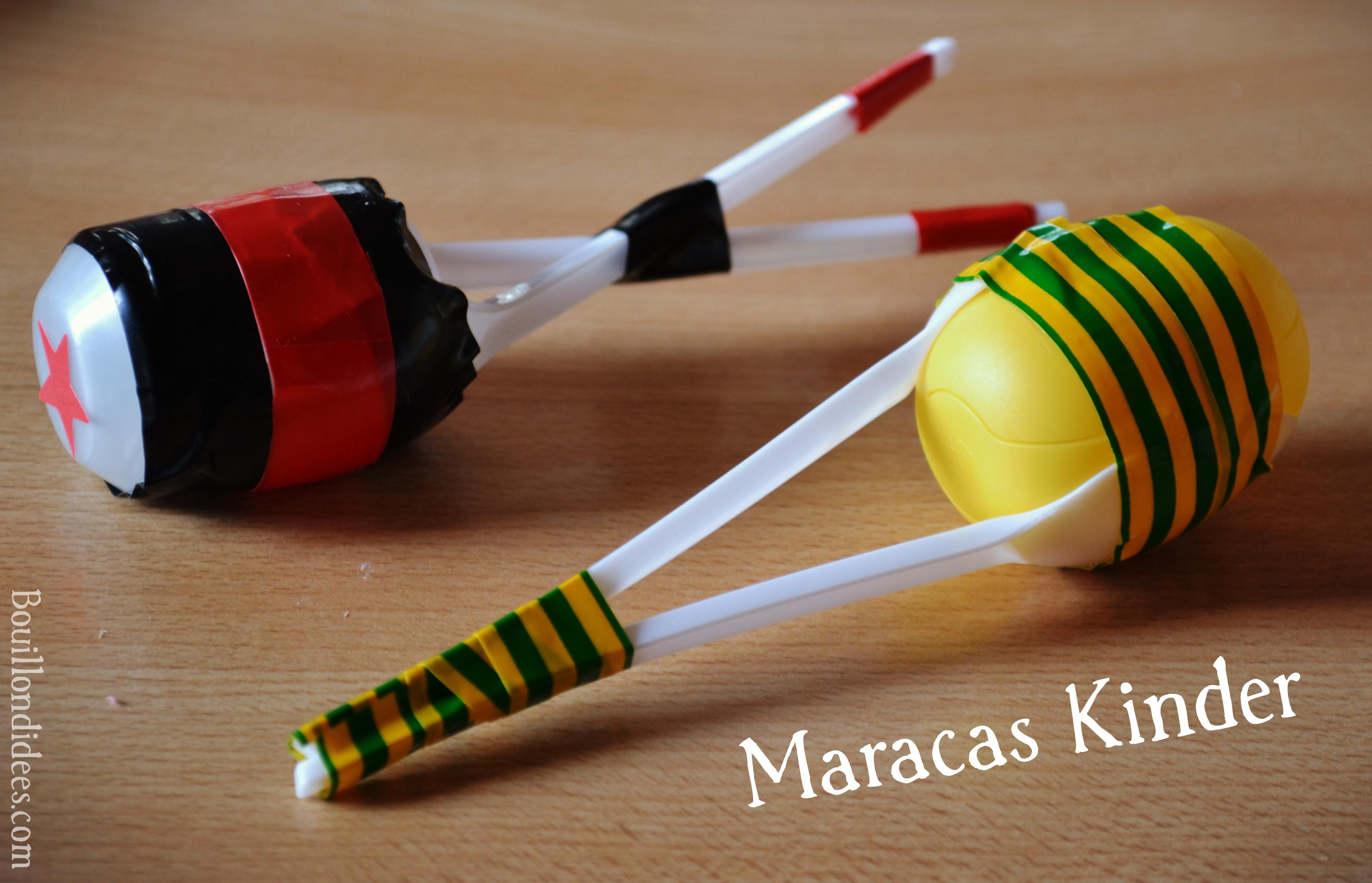 Diy Fête De La Musique Maracas Tap Tap Kazoo