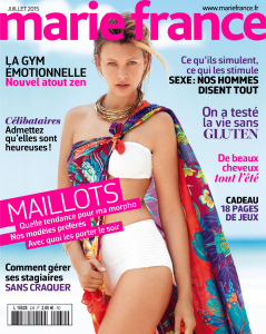 Marie Claire juillet 2015 sans gluten UNE revue de presse Bouillondidees