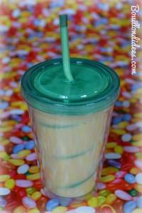 Smoothie Milkshake exotique sans GLO (gluten, lait, oeuf) - lait de coco, mangue, banane, orange 3 Bouillondidees