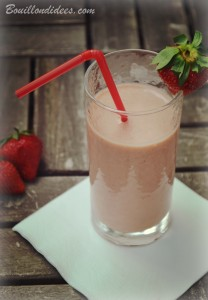 Smoothie Pops glace sans GLO mangue fraises milkshake Bouillondidees
