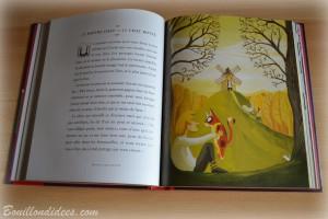 Livre Coin lecture Mon premier Larousse des contes extrait 1 chut les enfants lisent Bouillondidees