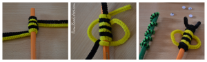 DIY Rentrée Customiser vos crayons Animaux cure pipe fil chenille (pas à pas) Bouillondidees